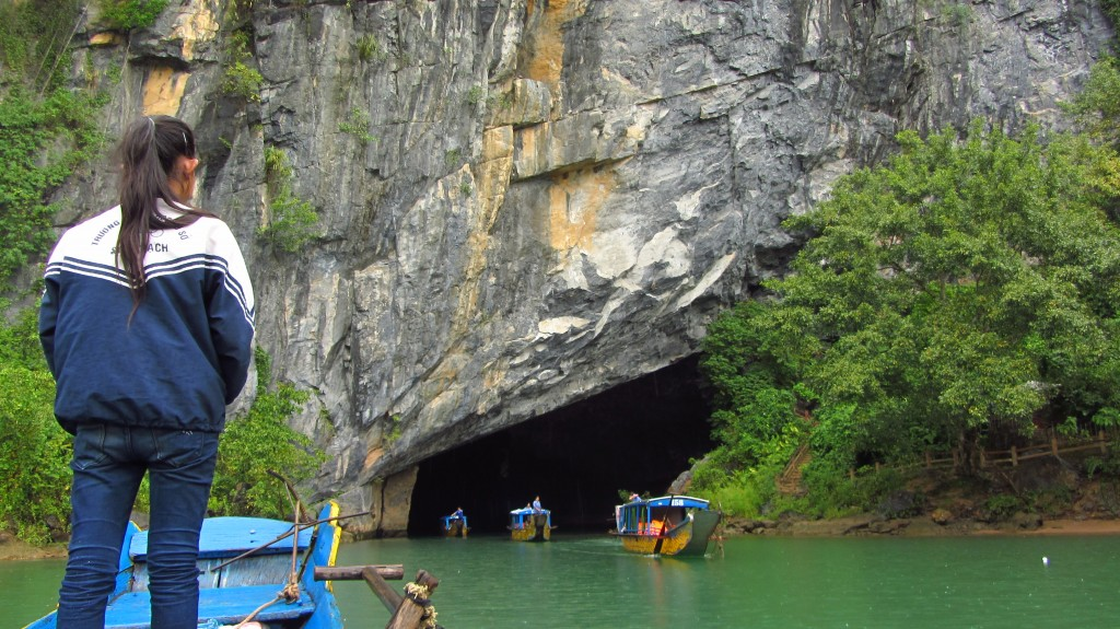 Entrance into Phong Nha
